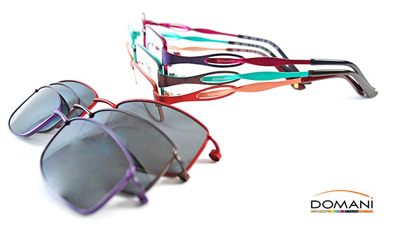 Domani ClikOns - Amazing new frame wear that rocks!